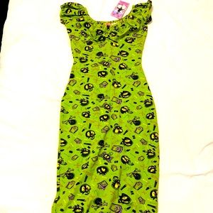 Pin-Up Couture X-Small Skulls Dress